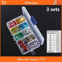 Wholesale sets S stores A A small type Auto fuse Kit with transparent box car fuses sets for Audi BMW HYUNDAI VW etc