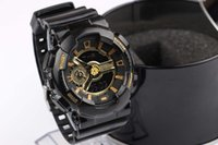 Wholesale Hot Newest Men GA110 Sports Watches Waterproof wristwatches Luxury Digital Watch with box
