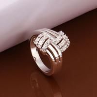 UK Queen Titanic Ocean Heart 925 bijoux anneaux plaqués argent avec anneaux de mariage nuptiale de mode Blue Sapphire Livraison gratuite R259