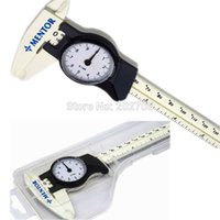 Wholesale Express mm inch plastic Dial caliper mm dial vernier caliper micrometer gauge