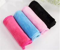 Wholesale IN STOCK Makeup Eraser Magic MAKE UP Cleaner ECO Makeup Remover Towels professional Makeup Cleaning Towel remove makeup water Makeup Remover