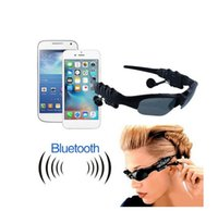 Wholesale Sports Stereo Wireless Bluetooth Headset Telephone Polarized Driving Sunglasses mp3 Riding Eyes Glasses
