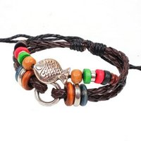 ally beaded - Colorful Beaded ally Fish Woven Strap Bracelet bangle Creative Novel charm wrist Bracelets awesome Bangles Highlight classic wrist jewelry