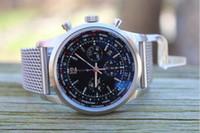 bb bracelets - LUXURY WATCHES Fashion Watch original box Brand BB Transocean Unitime Pilot Ocean Racer Satin Bracelet AB0510 Men s dress Watches