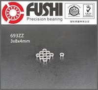 Wholesale 693ZZ ABEC x8x4MM Miniature Ball Bearings ZZ