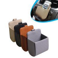 2016 nuevos accesorios de coches multifunción portátil de restos de vehículos teléfono celular titular de soporte para teléfono móvil