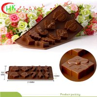 Wholesale FDA HEKANG and LFGD approved customized silicone chocolate molds to healthy and environmentally friendly economic and durable food silicone