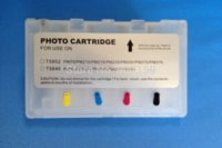 Wholesale T5846 refillable ink cartridge with single use chip for Epson PictureMate PM200 PM225 PM240 PM260 PM280 printer