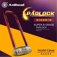 antique glass door - BLM320AB AnBoud Alarm Padlock For Glass Door Alarm Glass Door Lock for Antique Brass Finished