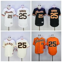 barry bonds giants - New SF Barry Bonds Jersey Flexbase San Francisco Giants Barry Bonds Baseball Jerseys Retro Cool Base White Grey Orange Cream Black