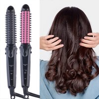 Wholesale Mini Practical in1 Hair Curling Straightening Tool Home or Professional Use tinyaa