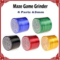 Wholesale sp Maze Game Grinders Aluminium Alloy mm Diameter Parts Metal Grinders Herb Grinders Herb Crushers vs sharpstone grinders