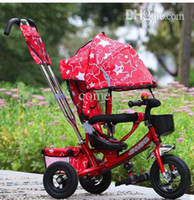 Wholesale Child tricycle bicycle baby stroller buggiest full high quality pneumatic tire