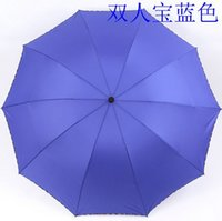 Wholesale 07218 Rain and Sun Business umbrella colors Lovers Umbrella For adults Open diameter cm