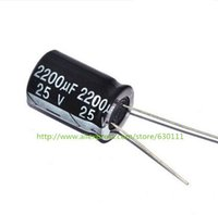 Wholesale V2200uF UF V Radial Electrolytic Capacitor X20mm