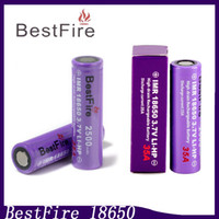 Wholesale Bestfire18650 battery A mah Li ion BatteryVape Batteries Fit Kanger Dripbox Toptank Mini Mods