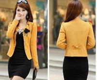 Wholesale day special offer all match short Korean women slim coat spring fat MM size short coat