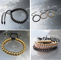 ball chain suppliers - China Supplier Macrame Handmake Stainless Steel Anil Arjandas Bead Match Cord Wrapped Knotted Steel Ball Bracelet