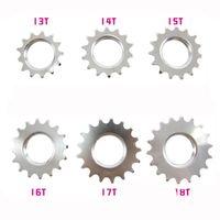 Wholesale fix gear T T T T T T Sprocket chain rings cogs single speed freewheel wheel parts