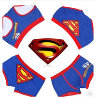 Wholesale Two Colors New Sexy Cotton Superman Couples underwear Men s briefs Women s Briefs Couple