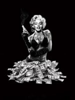 Wholesale HD Canvas Print Home Decor Wall Art Painting Marilyn Monroe No Frame