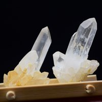 Wholesale 2 pieces of Tibetan natural white crystal healing wand The original stone specimens