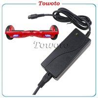 Wholesale Universal Hoverboard Charger Electronic Scooters Battery Charger for smart balance wheel US UK AU EU Plugs V A from Towoto