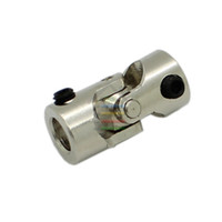 Wholesale New mm To mm DIY Universal RC Stainless Steel Joint Coupling R C Model Parts Shaft Coupling Motor Connector order lt no track