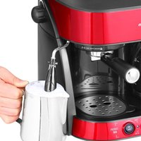 american business machines - semi automatic coffee machine American Italian style home coffee machine business quality goods office Coffee Makers