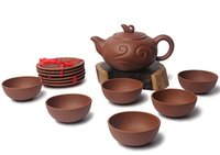 beauty totals - Total Handmade Tea Set YiXing Purple Sand Line Of Beauty in Teapot Simple But Elegant Whole Sales