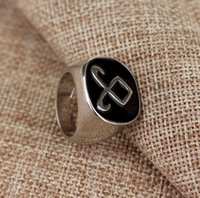 asian instruments - Hot Sale European And American Movies Jewelry The Mortal Instruments Ring City Of Bones Angelic Power Rune Ring
