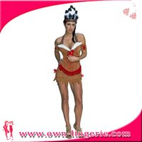 adult native american costume - Sexy Native American Indian Pocahontas Adult Costume Dress Womens One Size w1353