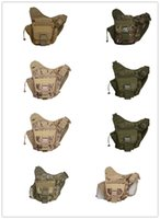 Wholesale 2016 Messenger Camera Bag Multi function Outdoor Cycling Saddle Bag Camouflage Durable Single Tactical Nylon Bags Mountaineering biking sadd