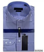 Wholesale 2016 Brand Men s Business Casual shirt mens long sleeve striped slim fit camisa masculina social male shirts new fashion shirt