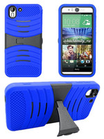 best cell phone case - Best Luxury Armor Cover Robot Hybrid Kickstand Rugged Case Cell Phone Accessory for HTC Desire HTC Desire A22 Color