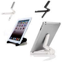 Wholesale DHL Shipping Universal Portable Adjustable Fold up Stand Holder Bracket For iPad Mini Kindle Android quot quot Tablet