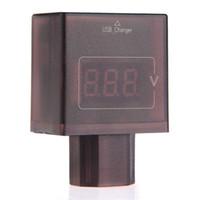 Wholesale Mini DC V V LED Digital Voltmeter Gauge Portable USB Charger Voltage Meter
