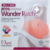 Wholesale 5 pakcage MYMI Wonder Patch Slimming Belly Patches Waist Slim Patches Loss Weight Products DHL