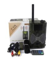 Wholesale HC300M Hunting Camera GPRS MMS SMS Digital Infrared Trail Camera Scouting Surveillance Hunting Camera NM IR LED