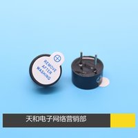 Wholesale DC V Electromagnetic type one body type have source Buzzer