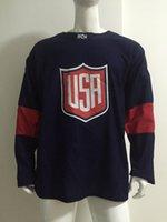 Wholesale Olympic Hockey Jerseys KANE World Cup Hockey Jersey Well Stitch Hockey Wears New Style Brand Hoceky Apparel