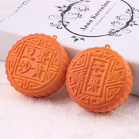 Wholesale rare squishy mooncake bread slow rising refrigerator magnets Fridge magnets squishy packages kids kitchen food toys bread squishy