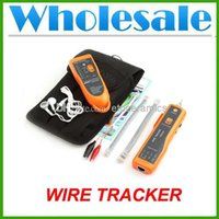 Wholesale Network LAN Cable Tester Wire Tracker RJ45 RJ11 Line Finder Scanning Device Lots100