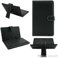 android protective case - 10PCS colours USB Keyboard Leather Case For inch Android Tablet pc Folding Leather Protective Case B JP