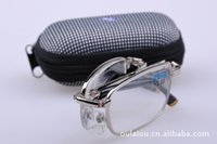 artificial sight - Manufacturers selling glasses folding presbyopic glasses artificial natural crystal clear metal