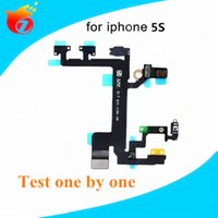 Wholesale For iPhone s Switch Power ON OFF Button Flex Cable Original Quality Replacement Repair Parts