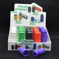 Wholesale Plastic N2O Cream Whipper cracker colorful cracker cream whipper smoking gas mix colors also have metal Cream Whipper