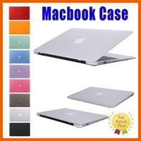 backpacks laptop covers - Frosted Matte Hard Rubberized Shell Macbook Skin Cover Case Protective Cases for Macbook Air Retina Pro inch
