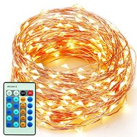Wholesale IMpopular m LEDs bulbs Copper Wire Warm White LED String Fairy Light Home Factory Office Lamp Indoor and Outdoor Starry String Lights