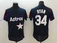 astros authentic jerseys - Houston Astros Nolan Ryan Dark Blue Navy MLB Baseball Jersey Cheap Rugby Jerseys Authentic Stitched Size